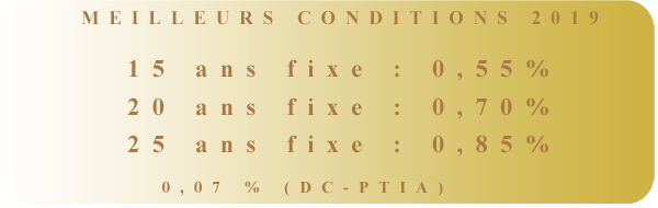 taux du crédit par West Courtage Brest